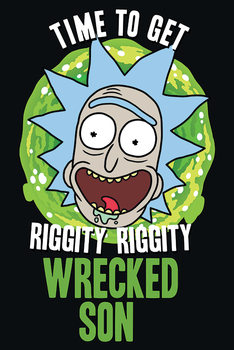 Juliste Rick and Morty - Wrecked Son