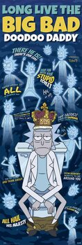 Juliste Rick & Morty - Doodoo Daddy