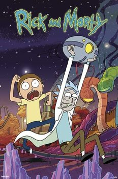 Juliste Rick & Morty - Planet