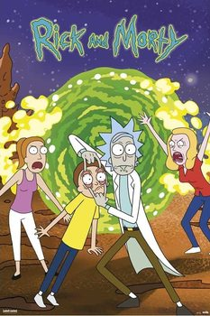 Juliste Rick & Morty - Portal