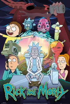 Juliste Rick & Morty - Season 4