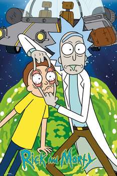 Juliste  Rick & Morty - Ship