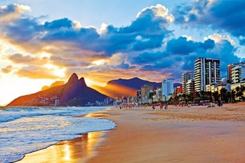 Juliste Rio de Janeiro - Beach