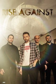 Juliste Rise Against - Band