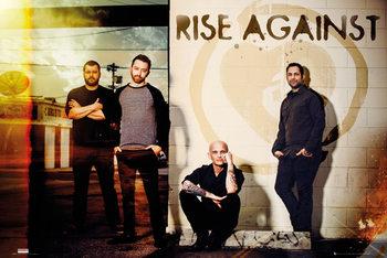 Juliste  Rise Against - Line Up