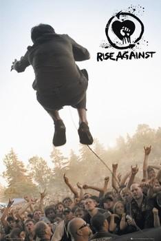 Juliste  Rise against - music