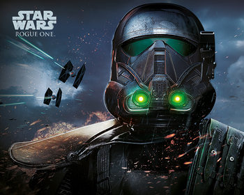 Juliste Rogue One: Star Wars Story - Death Trooper Glow