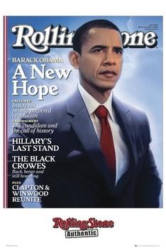 Juliste Rolling stone - obama