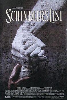 Juliste Schindlerin lista - Liam Neeson, Ben Kingsley, Ralph Fiennes