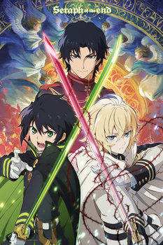 Juliste Seraph Of The End - Trio