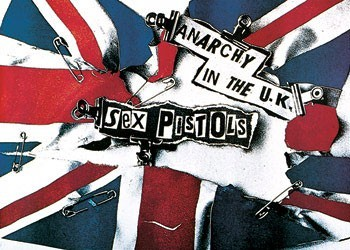 Juliste Sex Pistols - anarchy