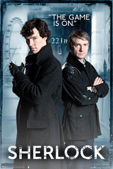 Juliste SHERLOCK - Door