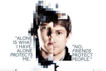 Juliste  Sherlock - Faces
