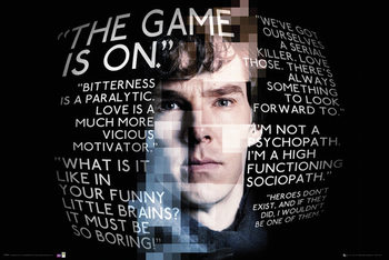 Juliste Sherlock - Sherlock Quotes