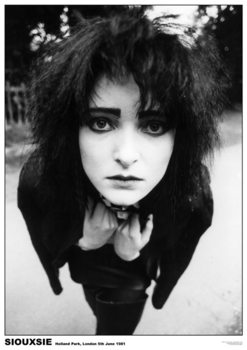 Juliste Siouxsie & The Banshees - London '81