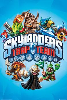 Juliste Skylanders Trap Team - Trap Team