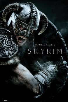 Juliste  Skyrim - Attack