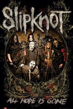 Juliste Slipknot - is gone