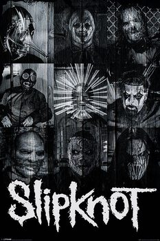 Juliste Slipknot - Masks