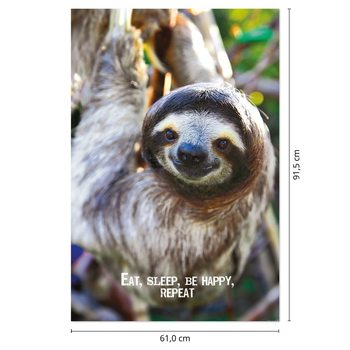 Juliste  Smile - Sloth