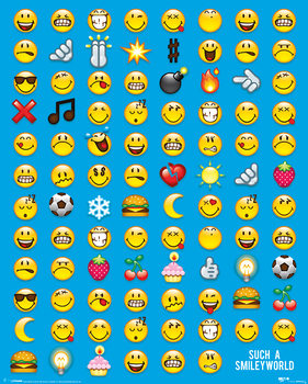 Juliste  Smiley - Emoticon