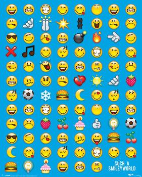 Juliste Smiley - Emoticon