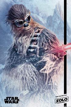 Juliste Solo: A Star Wars Story - Chewie Blaster