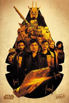 Juliste  Solo: A Star Wars Story -Millennium Falcon Montage