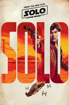 Juliste  Solo: A Star Wars Story - Solo Teaser