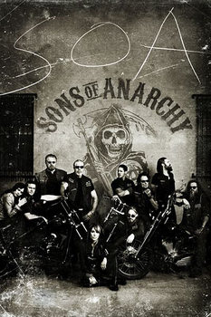Juliste SONS OF ANARCHY - vintage