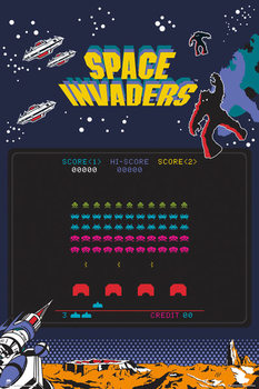 Juliste Space Invaders - Screen