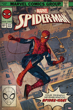 Juliste Spider-Man - Comic Front