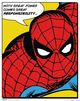 Juliste Spider-Man - Quote