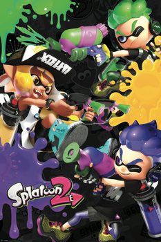 Juliste Splatoon 2 - 3 Way Battle A