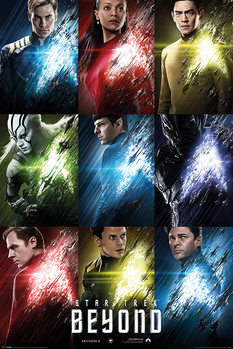 Juliste  Star Trek Beyond - Characters