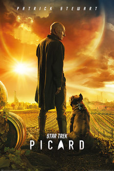 Juliste Star Trek: Picard - Picard Number One
