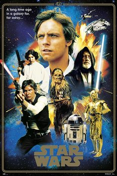 Juliste  Star Wars - 40th Anniversary Heroes