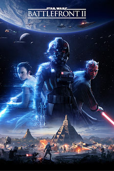 Juliste  Star Wars Battlefront 2 - Game Cover