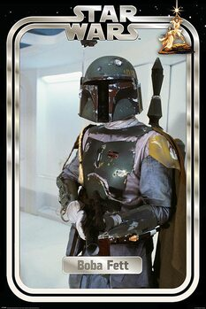 Juliste Star Wars - Boba Fett Retro Packaging