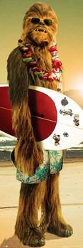 Juliste STAR WARS – chewie surf