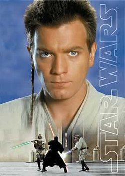 Juliste Star Wars: Episode I - Obi Wan Kenobi