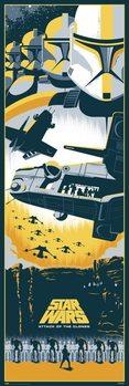 Juliste Star Wars II - Kloonien hyökkäys