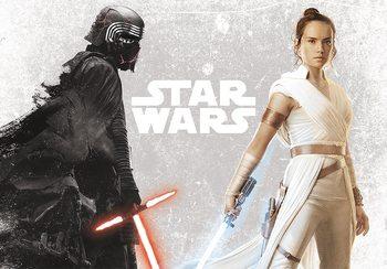 Juliste Star Wars - Kylo & Rey