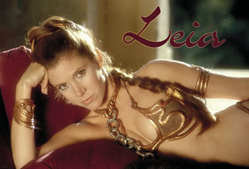 Juliste  Star Wars - Princess Leia
