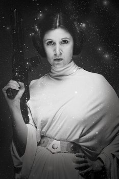 Juliste Star Wars - Princess Leia Stars