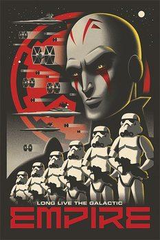 Juliste Star Wars Rebels - Long Live