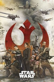 Juliste Star Wars: Rogue One - Rebels