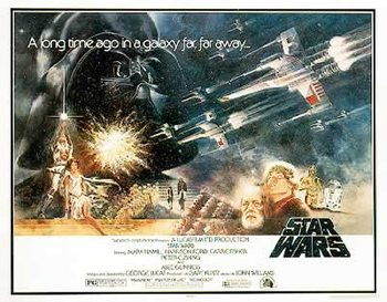 Juliste Star Wars - Style 'A' Half-Sheet