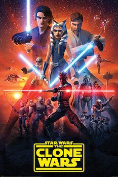 Juliste Star Wars: The Clone Wars - The Final Season