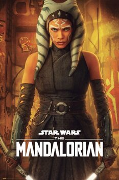 Juliste Star Wars: The Mandalorian - Ashoka Tano